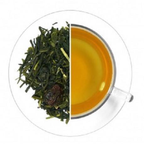 Ceai verde organic cu Capsuni si...