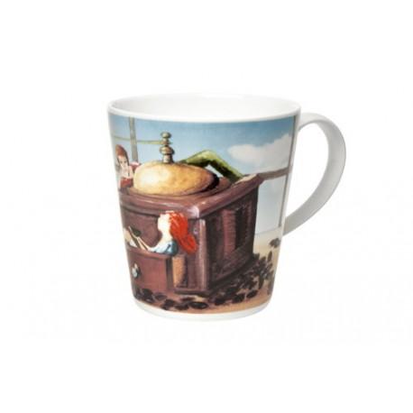 Cana portelan Coffee Mill