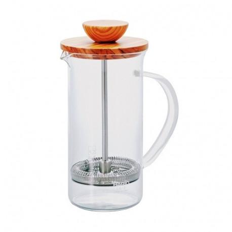 HARIO Coffee&Tea Press Wood 600ml...