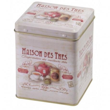 Cutie Maison des Thes pătrată