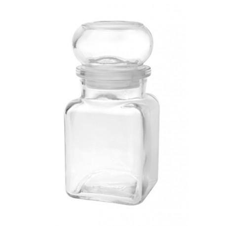 Borcan de sticla cu inchidere ermetica