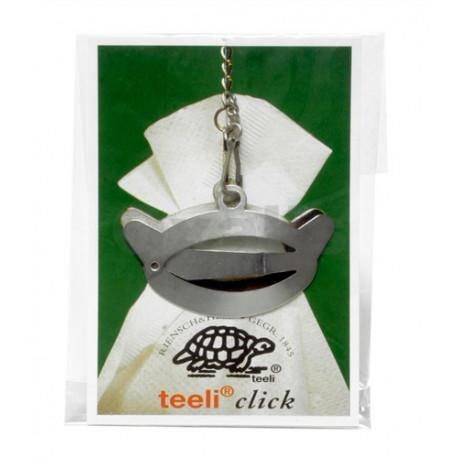 Clema de metal pentru pliculete de ceai