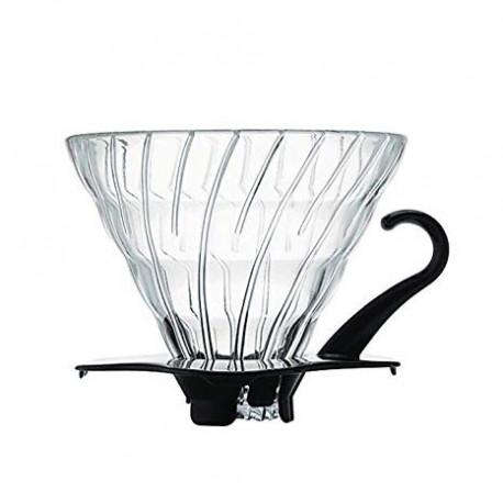 Hario Dripper V60 02 glass black