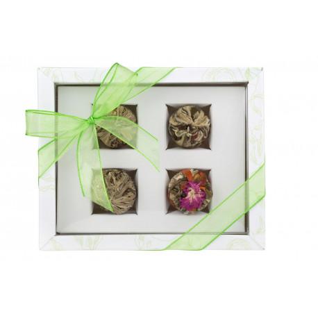 Set cadou 4 ceaiuri blooming ADIKIA...