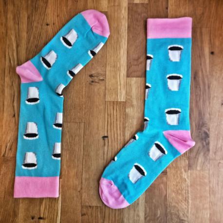 Sosete Cophi Socks ToGo blue&pink